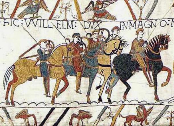 The Bayeux Tapestry, chronicling the English/Norman battle in 1066 which led to the Norman Conquest, led by William the Conqueror, father of King Henry I.  (alipaiman / Public domain)