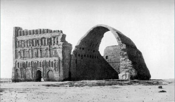 Taq Kasra is the most famous Persian monument from the Sasanian era. (Public Domain)
