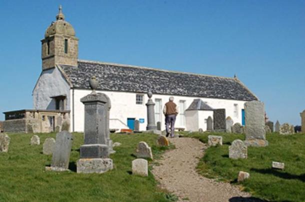 Tarbat Old Church, Portmahomack, rebuilt in 1756. (Jim Bain / CC BY-SA 2.0)