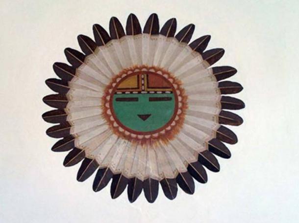Tawa, the sun spirit and creator in Hopi mythology.