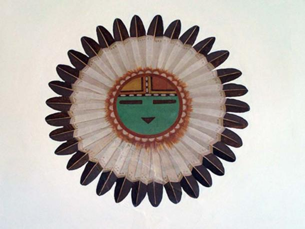 Tawa, the sun spirit and creator in Hopi mythology.