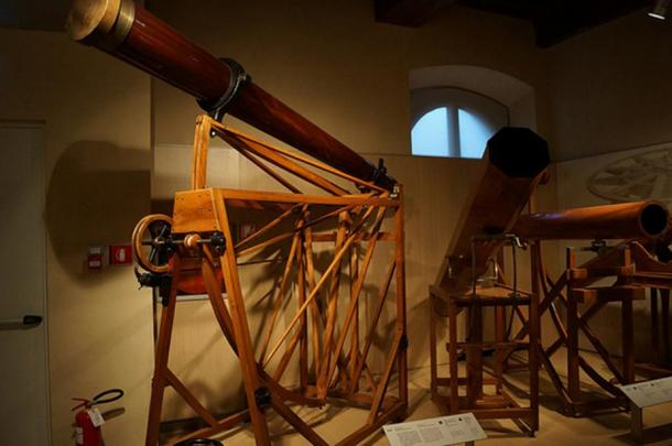 Telescopes from the Museo Galileo.