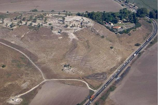 Tell Megiddo, the site of the Roman outpost