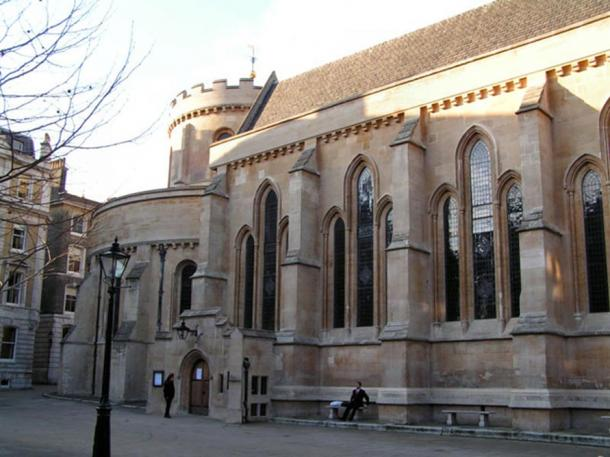 William Marshal was interred in Temple Church, London.