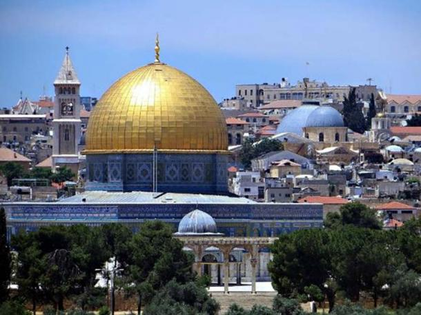 Temple Mount, Jerusalem.