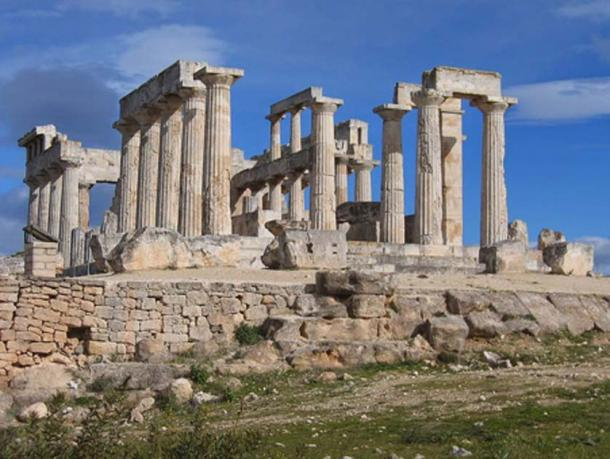 Temple of Aphaia on the island of Aegina near Athens, Greece. (Runner1928/CC BY SA 4.0)