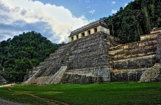 The Temple of Inscriptions, Palenque, Mexico