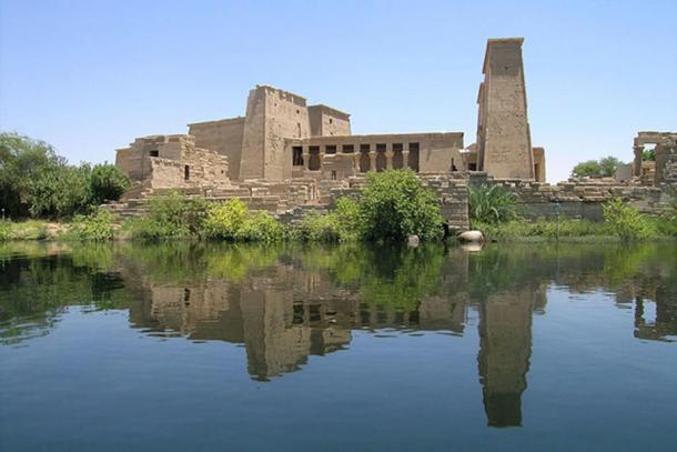 The Temple of Philae.