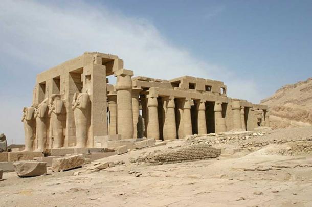 Temple of Ramesses II, Luxor.