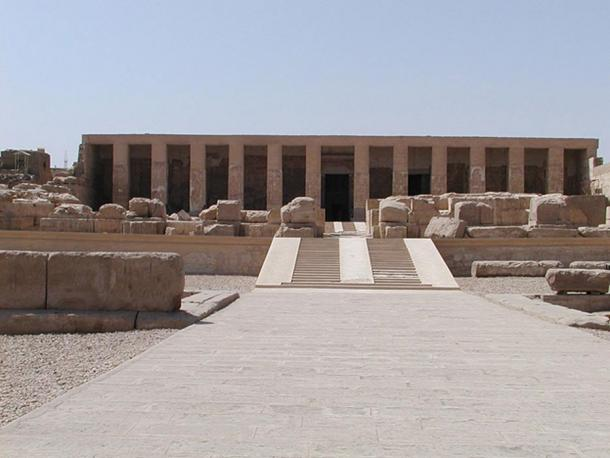 Temple of Seti I at Abydos.
