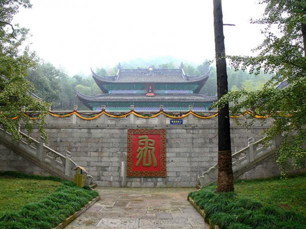 Temple of Yu the Great, Yu Mausoleum of Shaoxing, Zhejiang, China