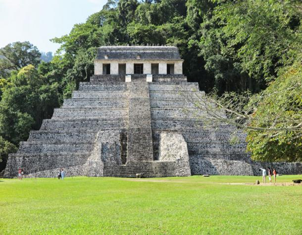 Temple of the Inscriptions in Palenque. (Christopher Evans / Author Supplied)