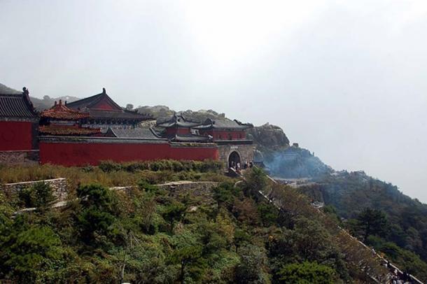 Temple on Mount Tai.