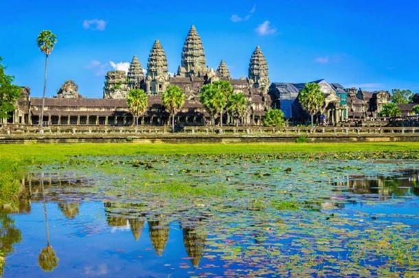 Temple site of Angkor Wat. (A.Jedynak / Adobe Stock)