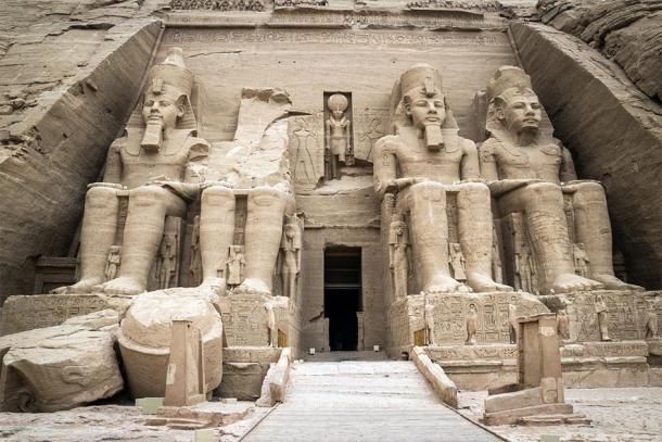 The Temple of Ramses II at Abu Simbel, Egypt. (inigolaitxu / Adobe stock)