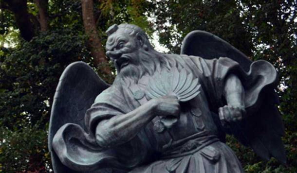Tengu No Hauchiwa is the legend about a man that steals a Tengu's fan. (JonaSanpo Tokyo / Adobe Stock)