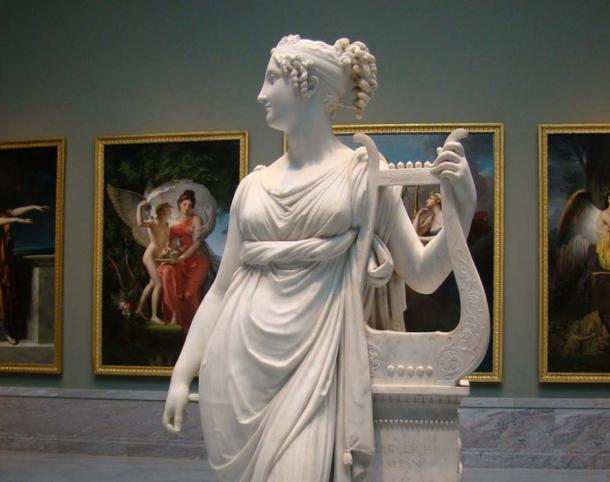 Terpsichore, Muse of Choral Song and Dance. Source: Glenn Marsch/CC BY NC ND 2.0