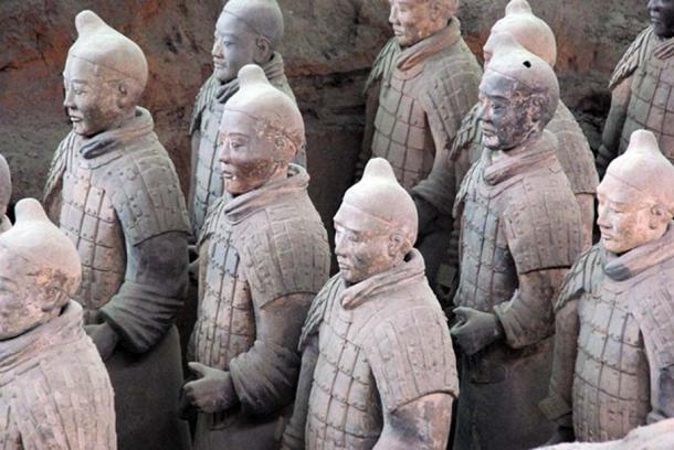 Terracotta Army in Xi'an, China.