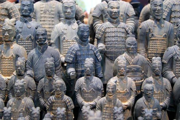 Terracotta Warriors at Qin Shi Huang's Mausoleum. (CC0)