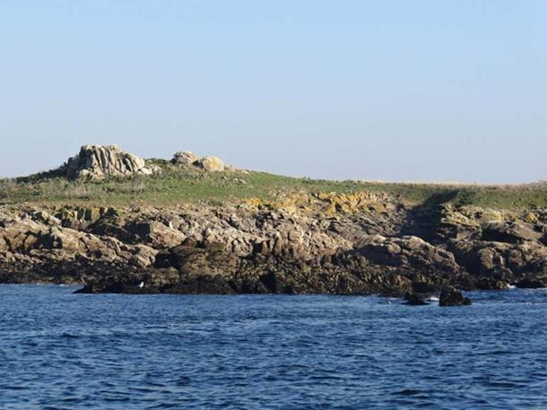 Téviec Island, Brittany, France.