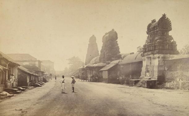 Thanjavur in 1869