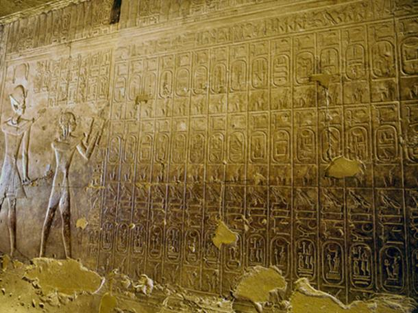 The Abydos King List