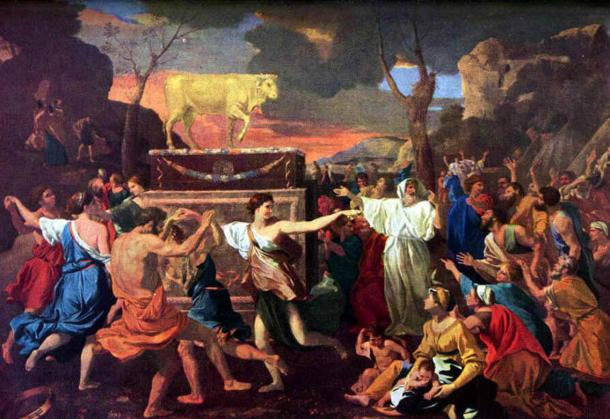 The Adoration of the Golden Calf.