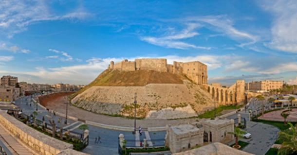 The Aleppo Citadel (saxlerb/ Adobe Stock)