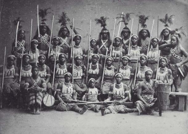 The Amazon warriors of the Dahomey. (Public Domain)