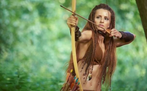 The Amazons frequently used bows and arrows. (dvoinik / Adobe Stock)