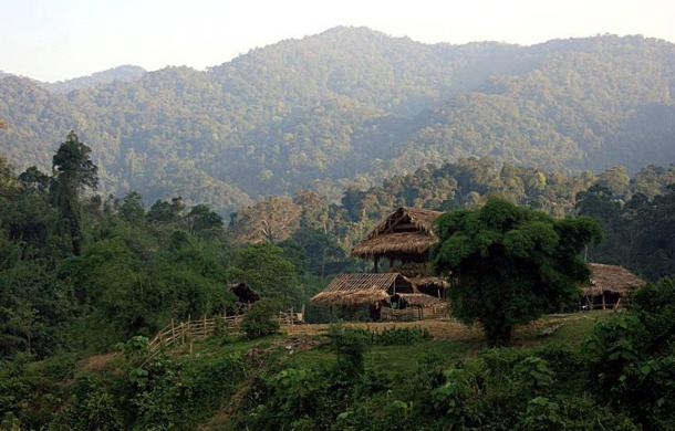 The Annamite Mountain Range extends over 1,000 kilometers through Laos, Vietnam and Cambodia. The fossils were located in Tam Pa Ling cave.
