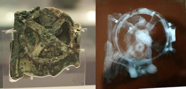 The Antikythera mechanism's fragments of gears, dials, and pointers were at first thought to be the remains of a mechanical clock. However, Professor Derek de Solla Price of Yale University revealed that this was an astronomical computer made around 87 BC. (Andrew Barclay / CC BY-SA 2.0)