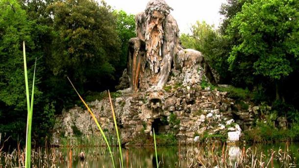 The Apennine Colossus.