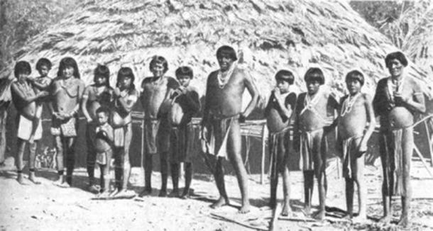 The Arawak of St Lucia (Pinterest)
