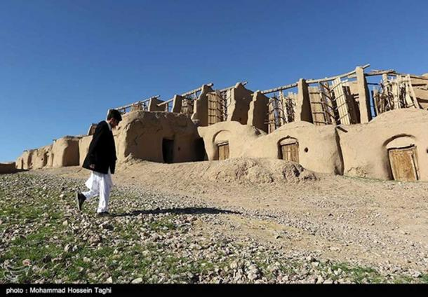The Asbad structures at Nashtifan, Iran
