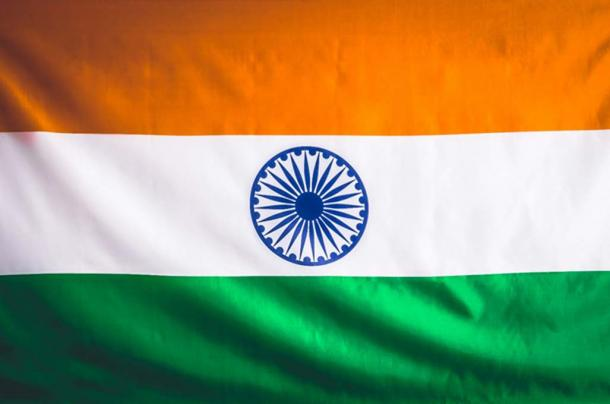 The Ashoka Chakra on the Indian Flag (Irina / Adobe Stock)