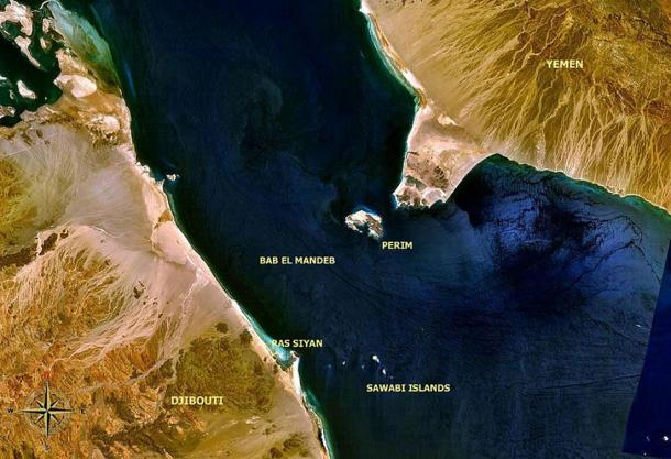 The Bab el-Mandeb Strait on the Horn of Africa: the place where Homo sapiens left Africa much earlier than previously thought,