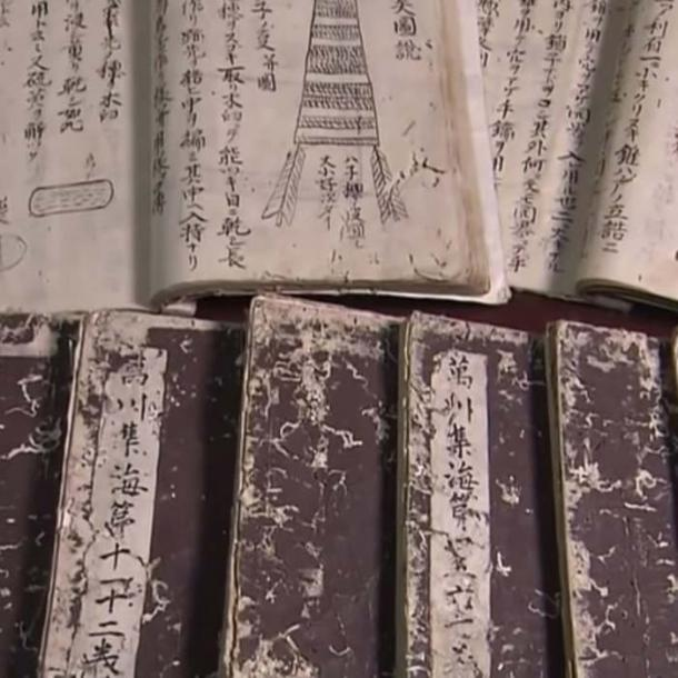 The Bansenshukai book contained knowledge from the ninja practicing Iga and Koga clans. (Tenryo Dojo)