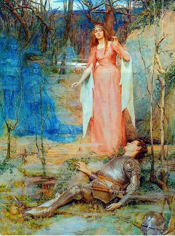 La Belle Dame Sans Merci – The Banshee. 1897.
