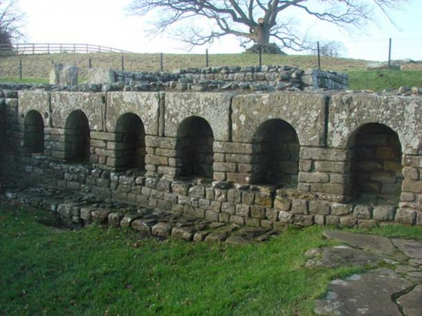The Bath House, Chesters Fort, Hadrian's Wall.