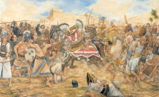'The Battle of Megiddo, 609 BC.'