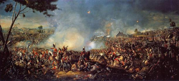 The Battle of Waterloo – bones of the dead where ground and used. (Napoleon.org.pl / Public Domain)