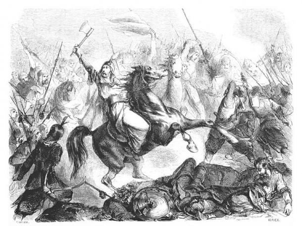 The Battle of the Kalka River. (Public Domain)