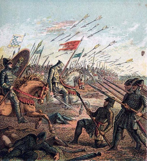 'The Battle of Hastings' (1868) by Joseph Martin Kronheim. (Public Domain)
