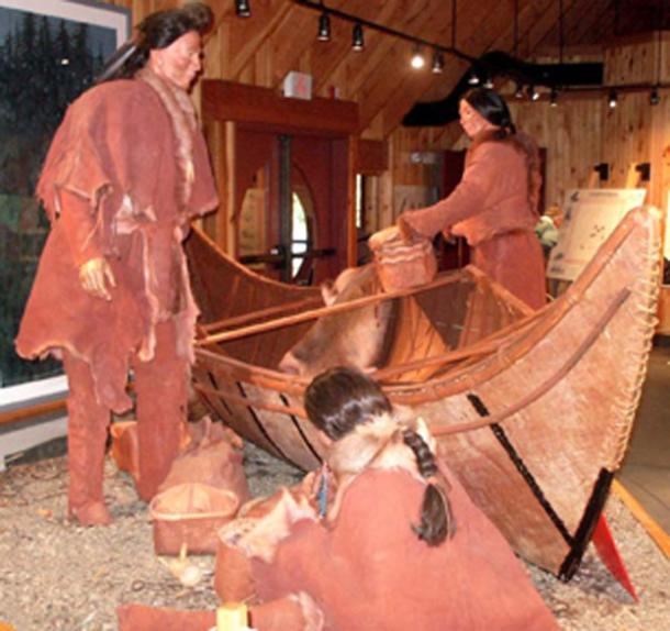 The Beothuk were the indigenous people in Newfoundland that the Vikings drove inland. (Carlb / Public Domain)