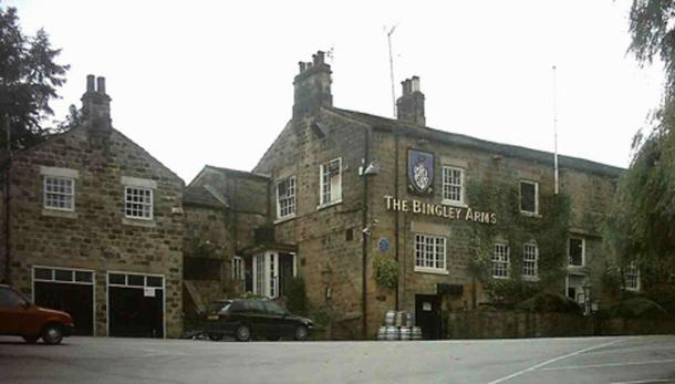 The Bingley Arms, Bardsey, West Yorkshire, perhaps the oldest pub in Britain