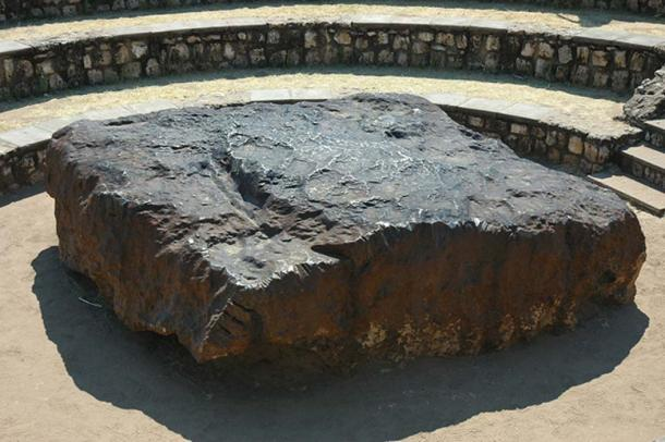 The Bola meteorite in Namibia. (Public Domain)