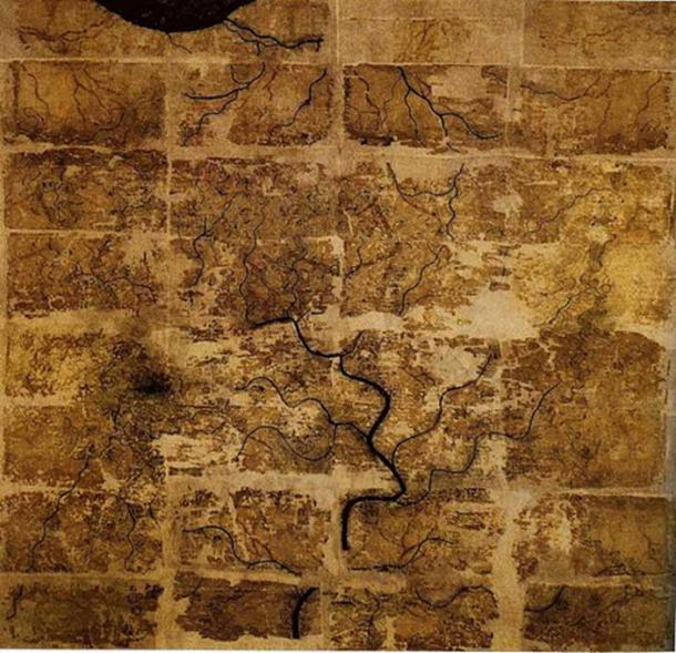 'The Book of Later Han' hints that Zhang Heng was the first to make a mathematical grid reference on ancient China maps.