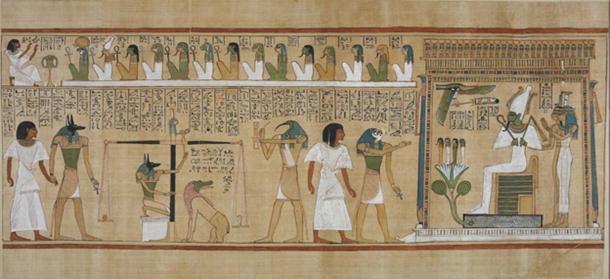 The Book of the Dead of Hunefer. (InverseHypercube / Public Domain)