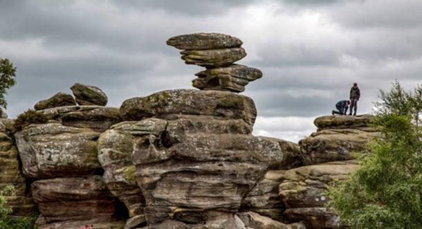 The Brimham Rocks (Public Domain)